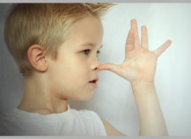 Treårigt barn fuldstændig ligeglad med hvad der bliver sagt