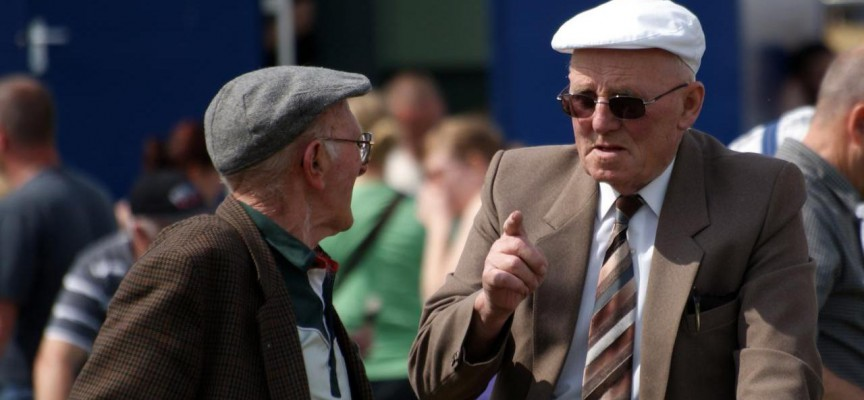 To gamle mænds sludren sendt på landsdækkende radio