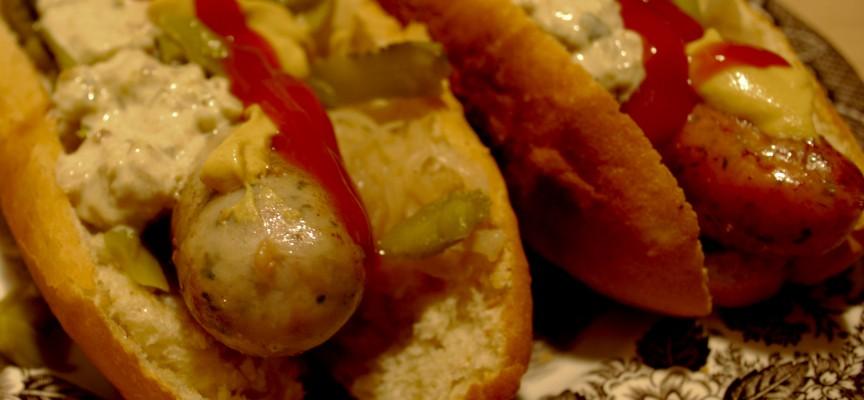 Kød fundet i hotdog