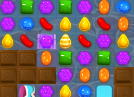 Lene fra Dianalund lavede en kombination i Candy Crush Saga