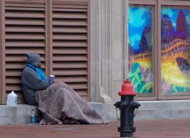 Amerikansk hjemløs jubler: Jeg skaber dynamik i samfundet