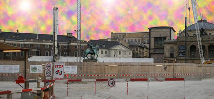 Større københavnsk byggeri færdigt til tiden i surrealistisk parallelunivers