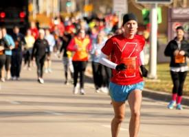 Maratonløber undslipper døden