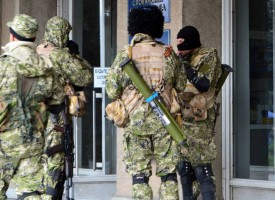 Russiske specialstyrker i Ukraine beder den russiske hær om beskyttelse