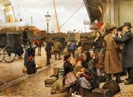 Danskere masseudvandrer efter Messerschmidt-sejr