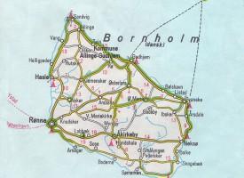 Bornholm sunket i havet under Folkemødet