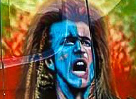 Mel Gibson skal lede et uafhængigt Skotland