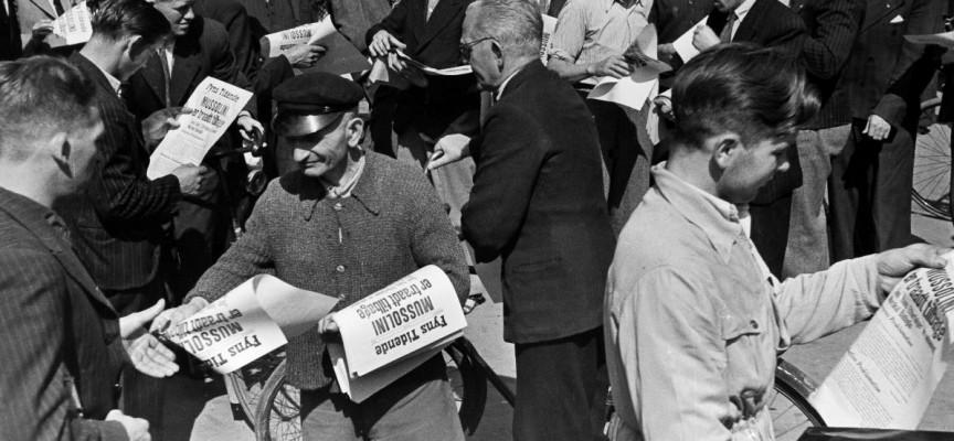 Danske redaktører afviser selvcensur (fra arkivet, 1940)
