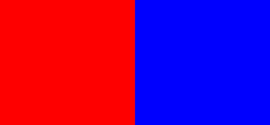 Ingen kan se det: Er billede af Dansk Folkeparti rødt eller blåt?