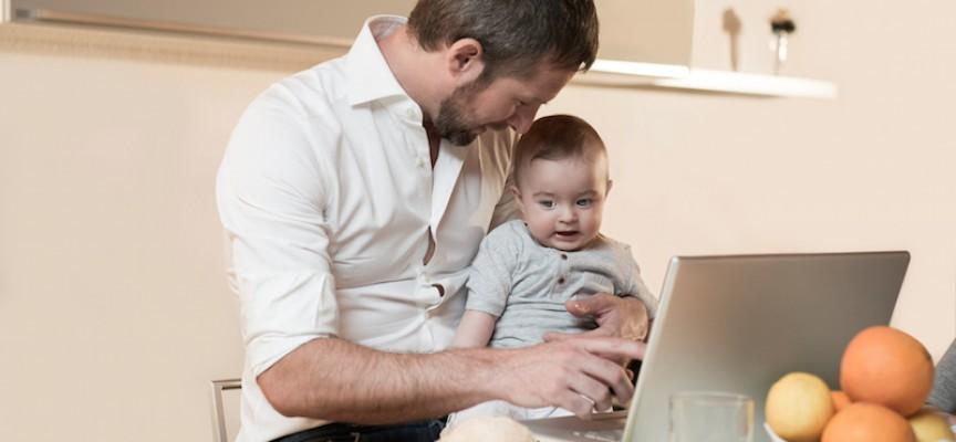 Mand forener karriere og familieliv
