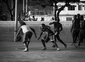 Streetbasket og hiphop redder 47-årig rocker fra kriminel løbebane