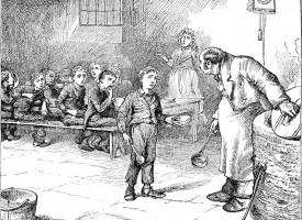 Britisk premierminister dropper socialhjælp: Dickens' romaner er jo bare fiktion (fra arkivet, 1859)