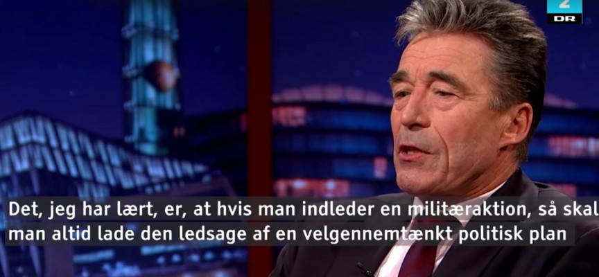 Irakere jubler over at have gjort Anders Fogh klogere