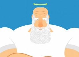 Gud indrømmer: Nej, der er ingen mening med noget
