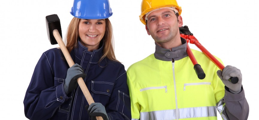 Ligestillingschok: Kun hver 100. jord- og betonarbejder er kvinde