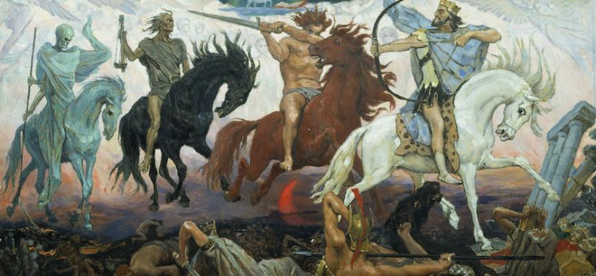 Apokalypsens fire ryttere på inspirationstur til Distortion