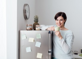 Kvinde løste problem med utæt køleskab ved at sænke topskatten