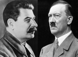 Forældre løser Stalin og Hitlers strid om Polen (fra arkivet, 1939)