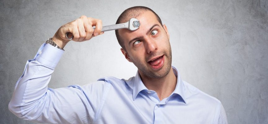 Ubegavet psykopat formår kun at manipulere med sig selv