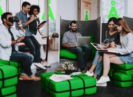 SAS åbner lysegrøn krea-lounge til særligt trofaste kunder