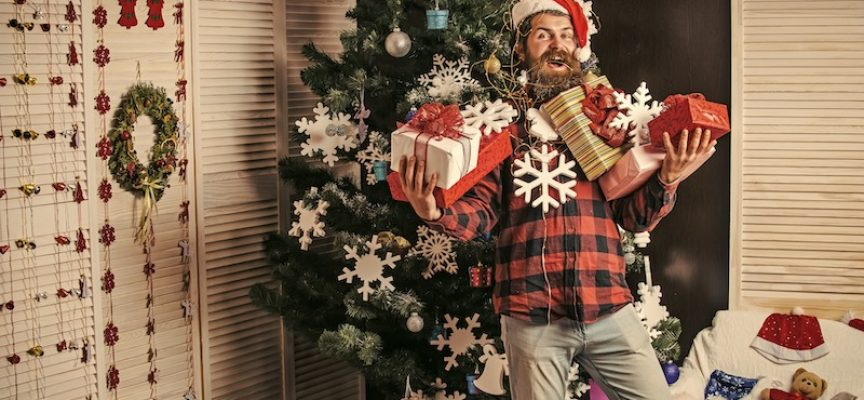 Tjalfe holdt miljøvenlig jul: Fik gaver, men gav ingen selv