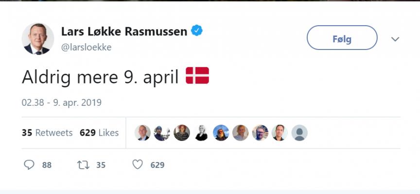Regeringen afskaffer 9. april til fordel for den 31. april