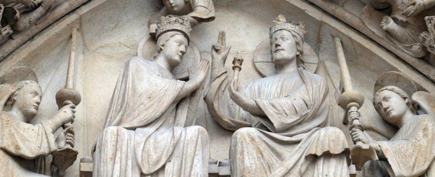 Jomfru Maria vil samle ind til genopbygning af menneskeheden