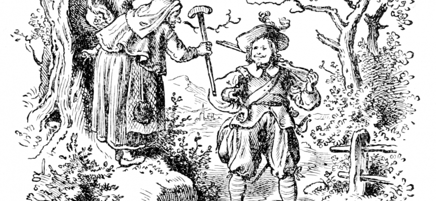 Soldat med tryllelighter og kæmpehunde gennemfører militærkup (fra arkivet, 1835)