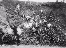 København drukner i cykler (fra arkivet, 1902)
