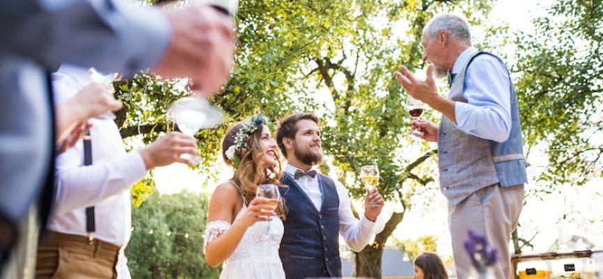 Gæst ved bryllup var faktisk stor taler