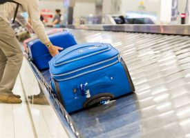 Jørgen fra Herning fik sin kuffert som den første
