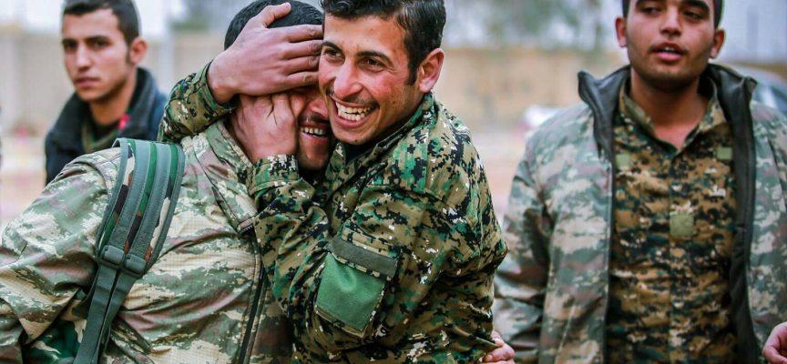 Europa redder kurderne
