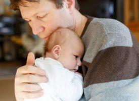 Nybagt far jubler: Jeg gjorde kæmpe forskel under fødslen