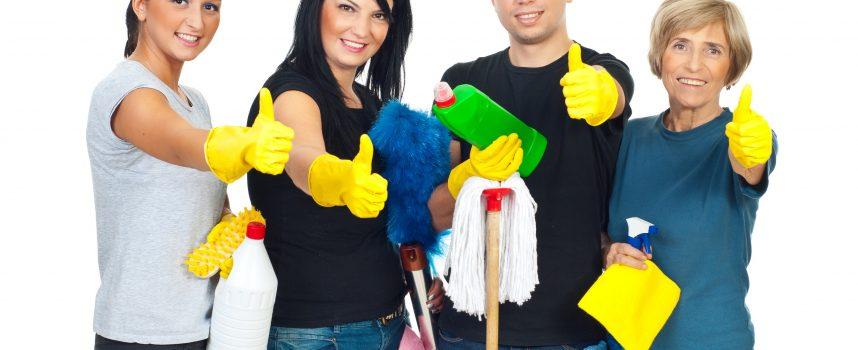 Ny startup tilbyder rengøring og oprydning af dit hjem, før rengøringshjælpen kommer