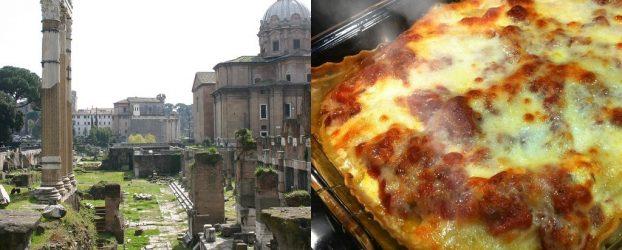 Arkæologer finder 2073 år gammel lasagne, der stadig er rygende varm