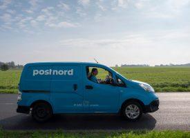 PostNord afleverer pakke på hjemmeadresse
