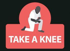Ulf Pilgaards dårlige knæ misforstået som solidaritet med Black Lives Matter