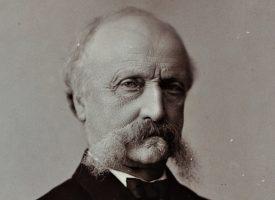 Conseils-Præsident Estrup opruste sin oeconomiske Raadgivning (fra arkivet, 1875)