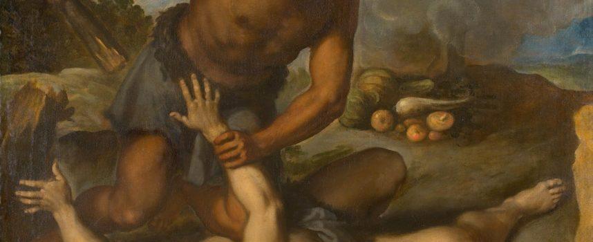 Abel raser: Gud beskytter Krænker-Kain (fra arkivet, 5947 f.v.t.)