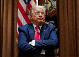 Amerikansk præsident låst inde på sit værelse