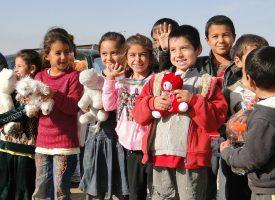 Syrien-børn jubler: Vi har reddet Jeppe Kofods karriere