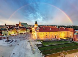 Regnbue over Warszawa anklaget for LGBT-propaganda