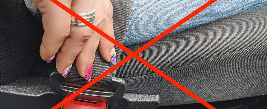 Kvinde afviser sikkerhedsseler: Beskytter ikke 100 procent mod trafikuheld