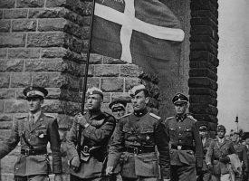 Venstrefløjen jubler over hjemtagelse af Østfronts-krigere (fra arkivet, 1945)
